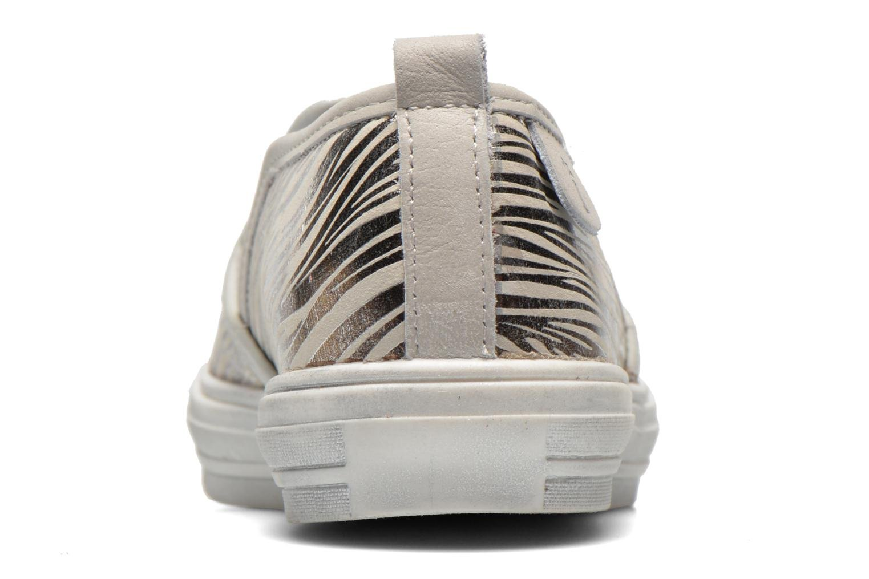 Baskets Babybotte KRAKOTE Argent vue droite