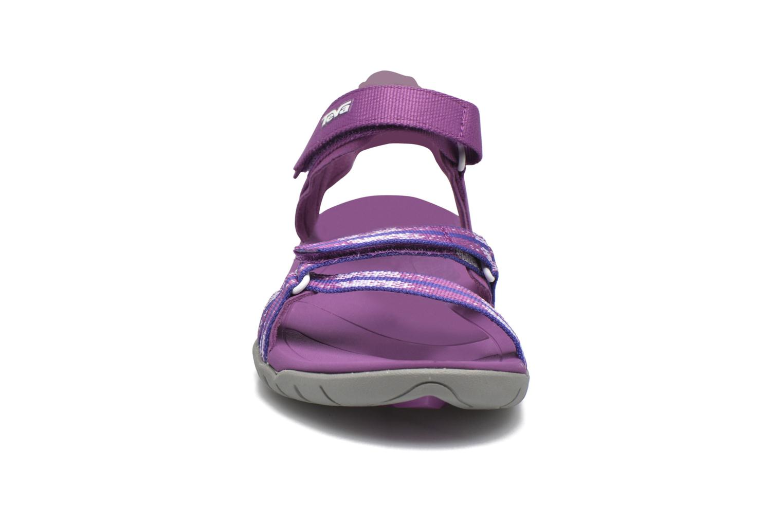 Chaussures de sport Teva Verra W Violet vue portées chaussures