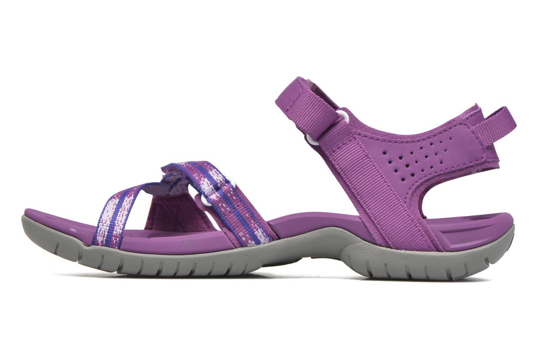 Chaussures de sport Teva Verra W Violet vue face