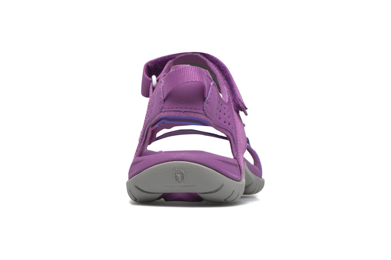 Chaussures de sport Teva Verra W Violet vue droite