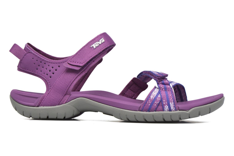 Chaussures de sport Teva Verra W Violet vue derrière