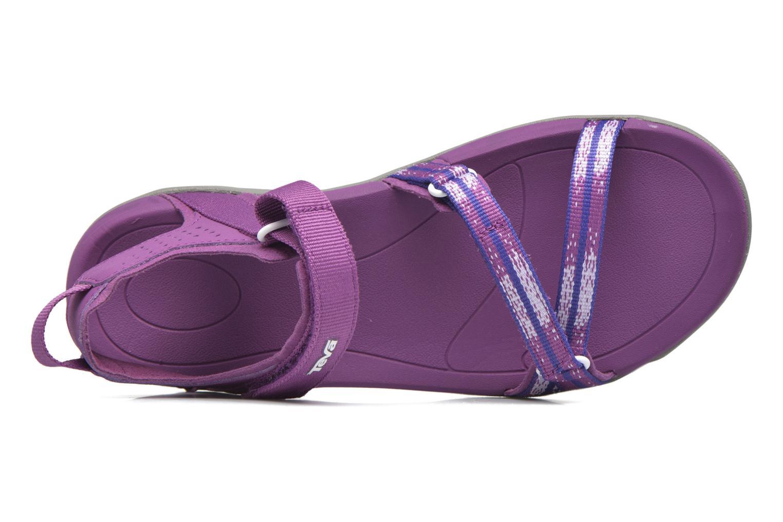 Chaussures de sport Teva Verra W Violet vue gauche