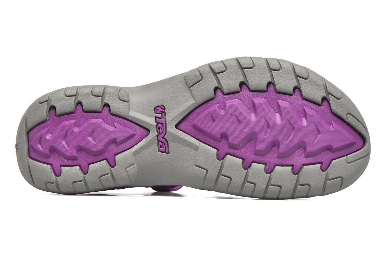 Chaussures de sport Teva Verra W Violet vue haut