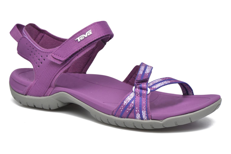 Chaussures de sport Teva Verra W Violet vue détail/paire