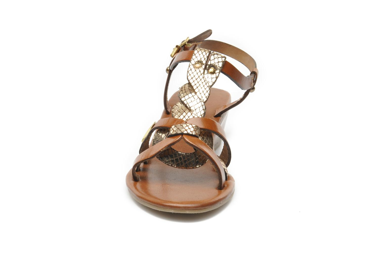 Sandali e scarpe aperte Les Tropéziennes par M Belarbi Bilboa Marrone modello indossato