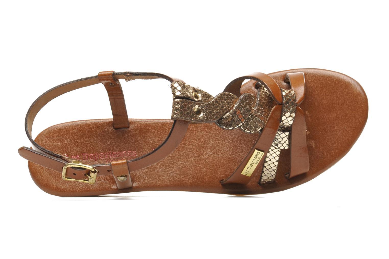 Sandali e scarpe aperte Les Tropéziennes par M Belarbi Bilboa Marrone immagine sinistra