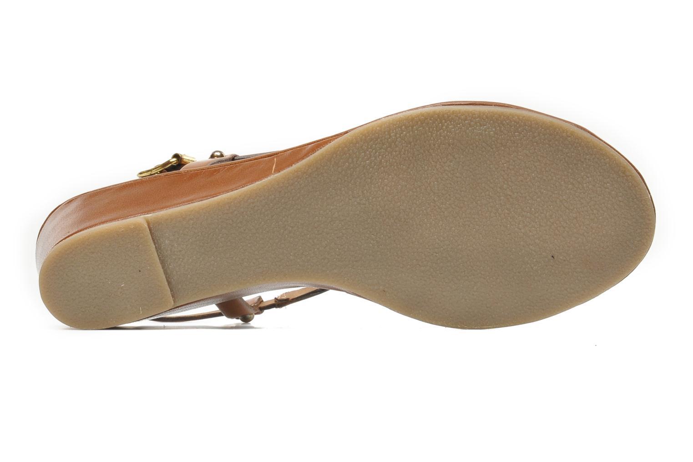 Sandali e scarpe aperte Les Tropéziennes par M Belarbi Bilboa Marrone immagine dall'alto
