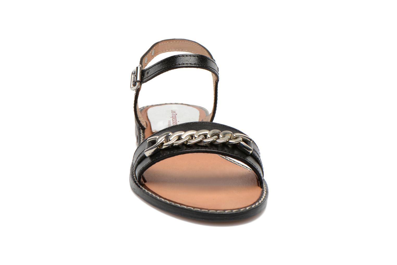 Sandali e scarpe aperte Les Tropéziennes par M Belarbi Bearn Nero modello indossato