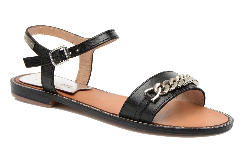 Sandaler Les Tropéziennes par M Belarbi Bearn Sort detaljeret billede af skoene