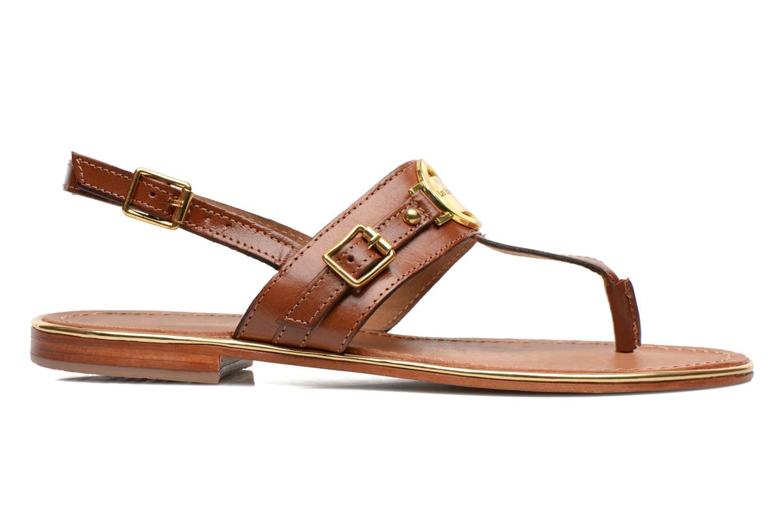 Sandales et nu-pieds Les Tropéziennes par M Belarbi Bebop Marron vue derrière