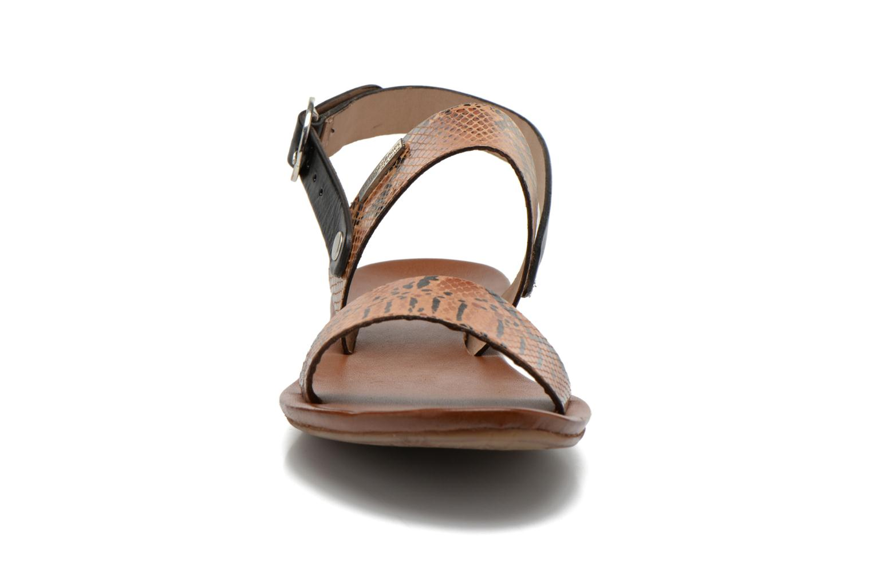 Sandales et nu-pieds Les Tropéziennes par M Belarbi Biniou Multicolore vue portées chaussures
