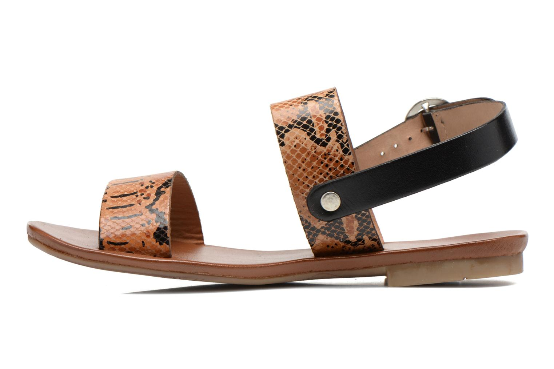 Sandales et nu-pieds Les Tropéziennes par M Belarbi Biniou Multicolore vue face