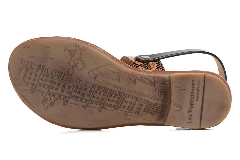 Sandales et nu-pieds Les Tropéziennes par M Belarbi Biniou Multicolore vue haut