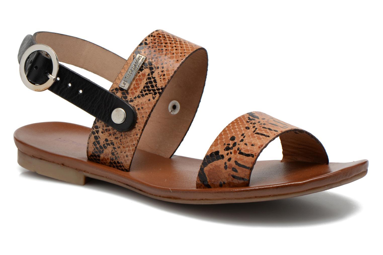 Sandales et nu-pieds Les Tropéziennes par M Belarbi Biniou Multicolore vue détail/paire