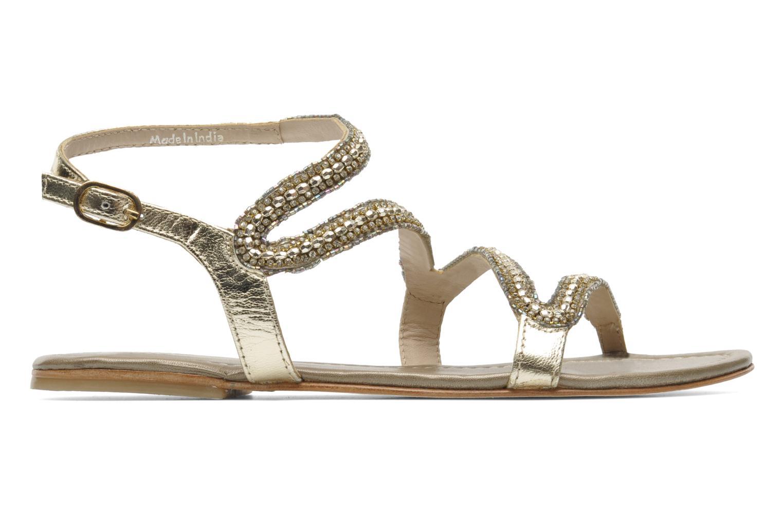 Sandales et nu-pieds Les Tropéziennes par M Belarbi Jolane Or et bronze vue derrière