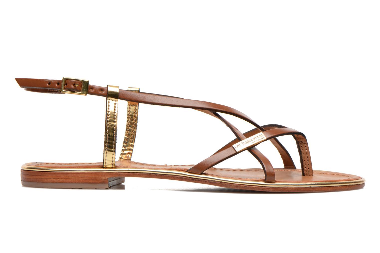 Sandals Les Tropéziennes par M Belarbi Monaco Brown back view