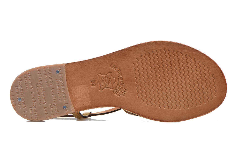 Sandals Les Tropéziennes par M Belarbi Monaco Brown view from above