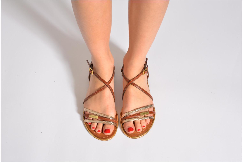 Sandals Les Tropéziennes par M Belarbi Balise Brown view from underneath / model view