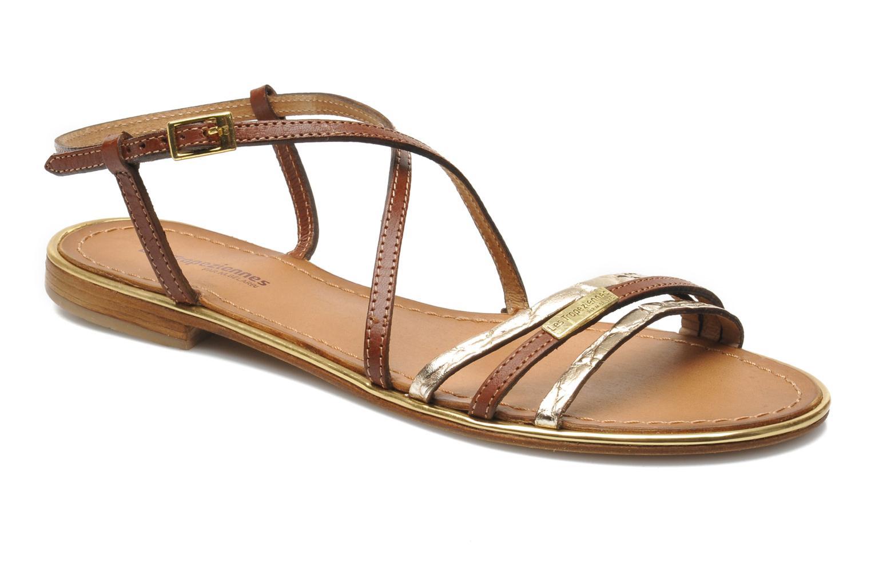 Sandales et nu-pieds Les Tropéziennes par M Belarbi Balise Marron vue détail/paire