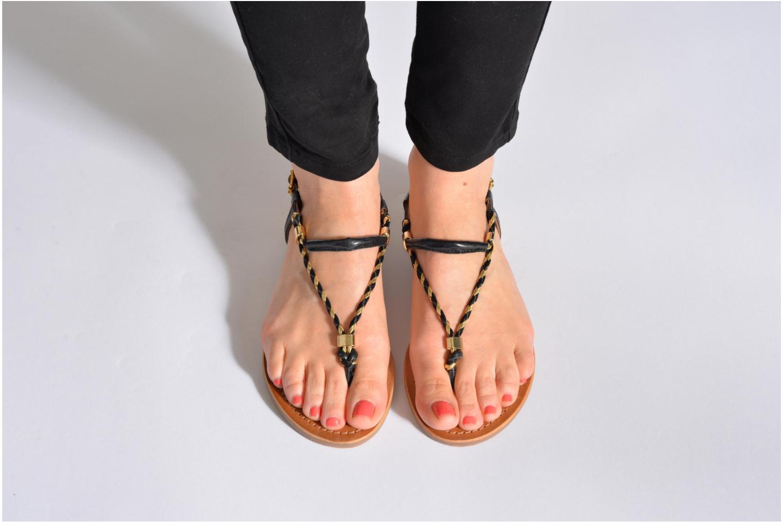 Sandalen Les Tropéziennes par M Belarbi Baryton mehrfarbig ansicht von unten / tasche getragen