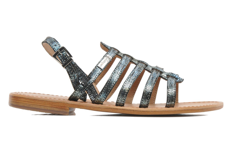Sandales et nu-pieds Les Tropéziennes par M Belarbi Brillant Bleu vue derrière