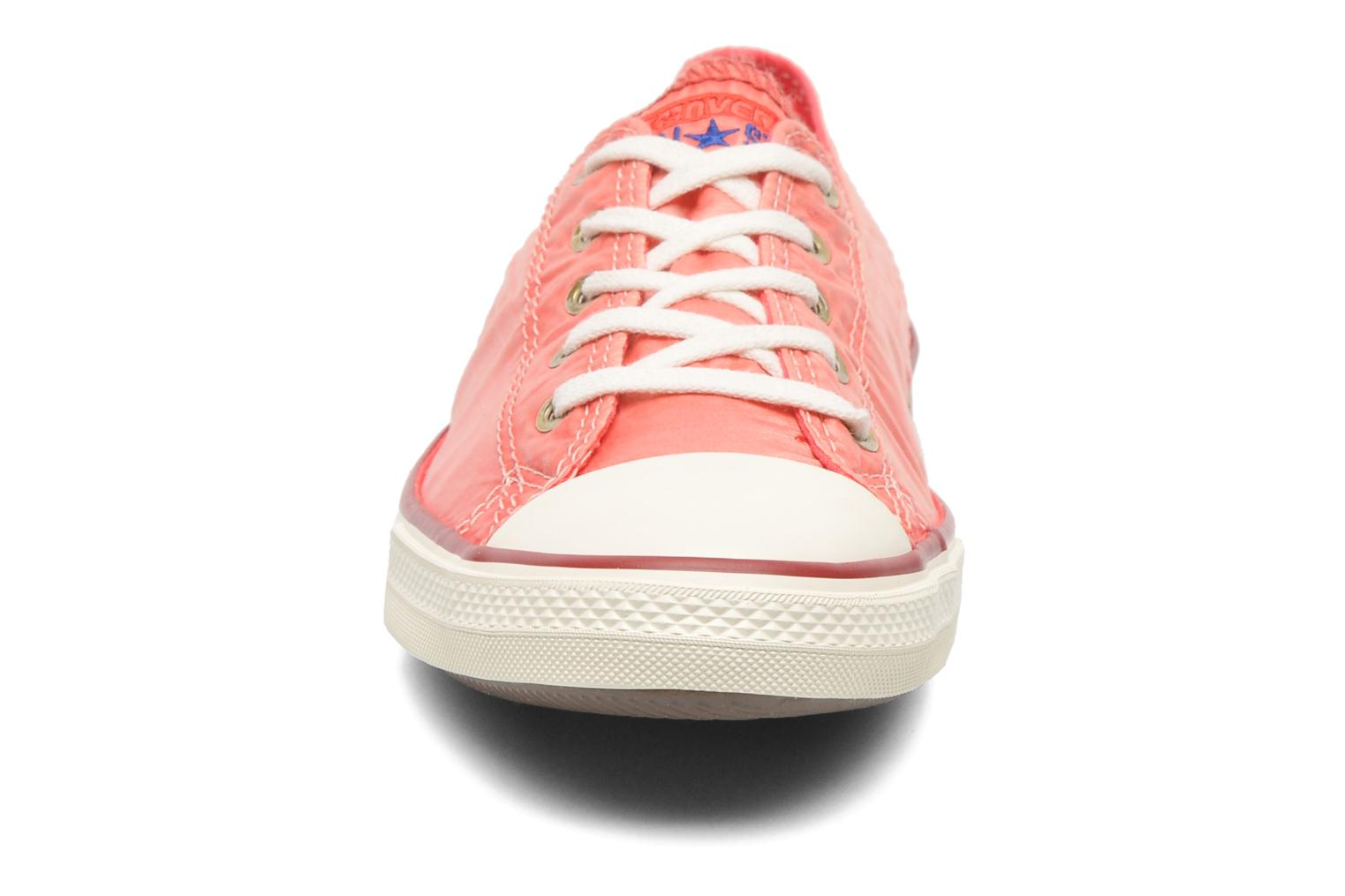 Baskets Converse CTAS Fancy Supernova Wash Ox W Orange vue portées chaussures