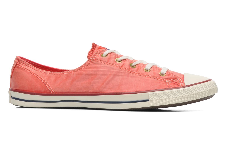 Sneaker Converse CTAS Fancy Supernova Wash Ox W orange ansicht von hinten