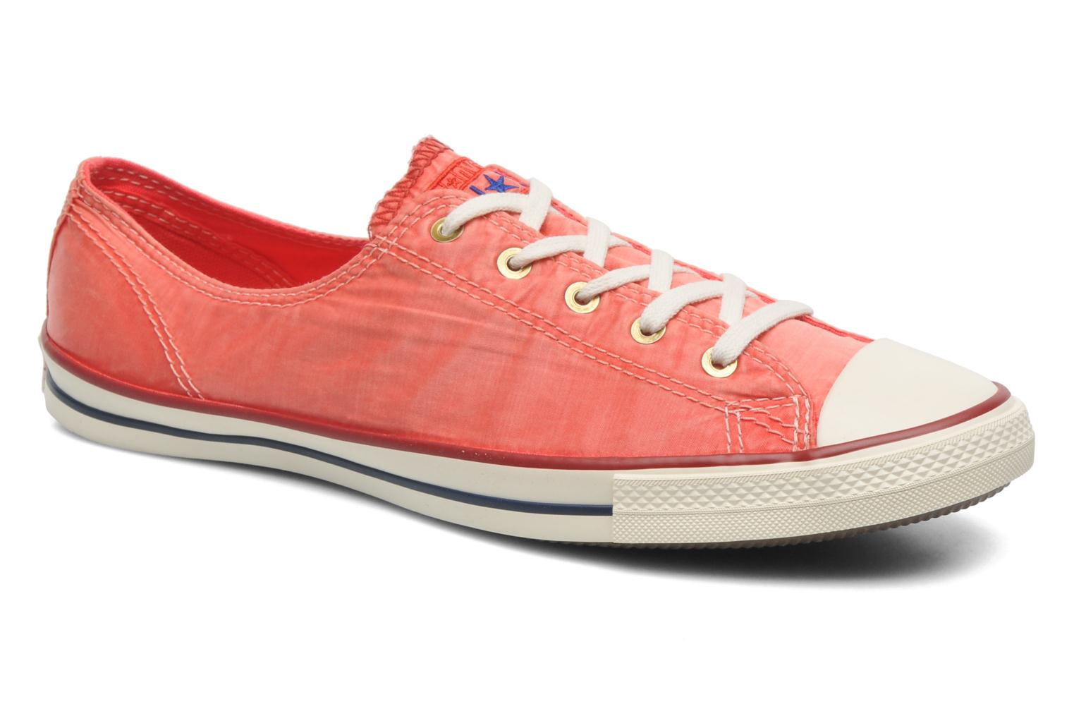 Baskets Converse CTAS Fancy Supernova Wash Ox W Orange vue détail/paire