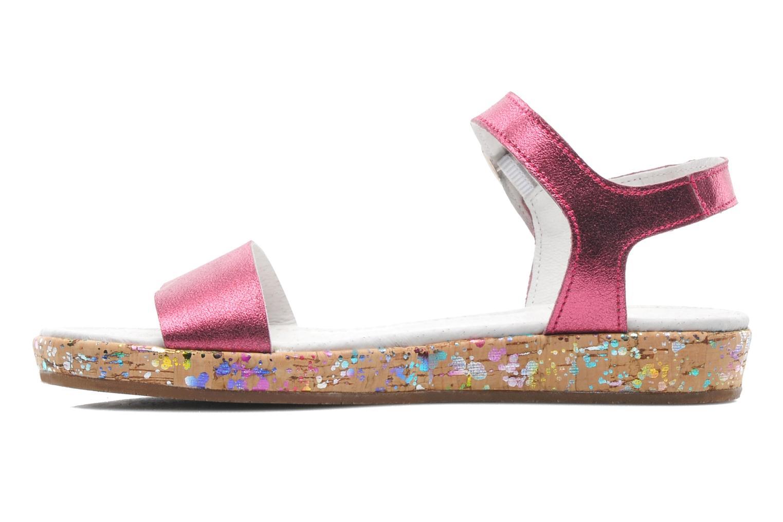 Sandales et nu-pieds Yep Brasilia Rose vue face