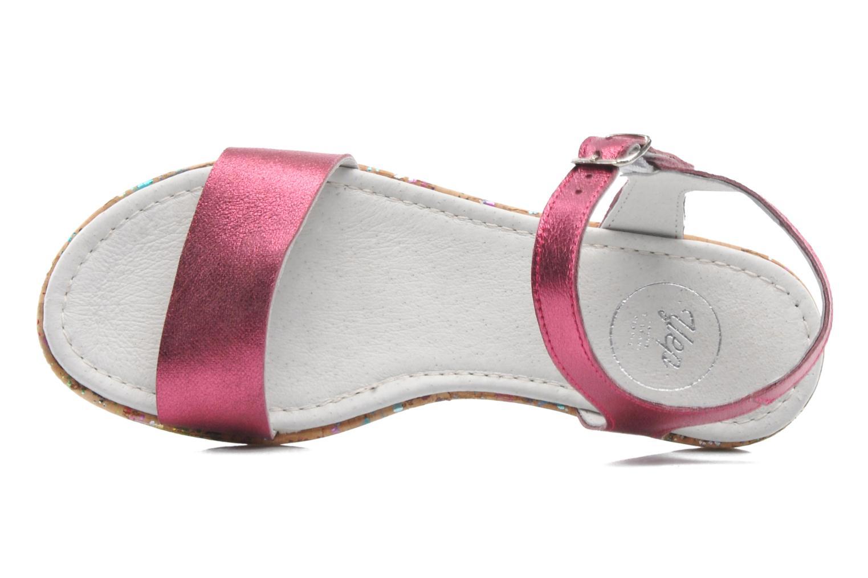 Sandales et nu-pieds Yep Brasilia Rose vue gauche
