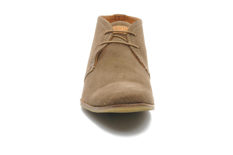 Chaussures à lacets Redskins Wolnan Beige vue portées chaussures