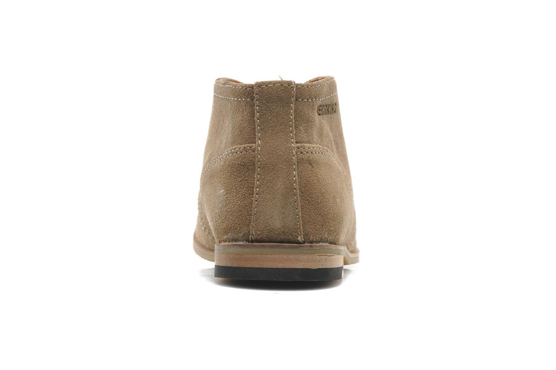 Chaussures à lacets Redskins Wolnan Beige vue droite