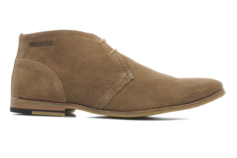 Chaussures à lacets Redskins Wolnan Beige vue derrière