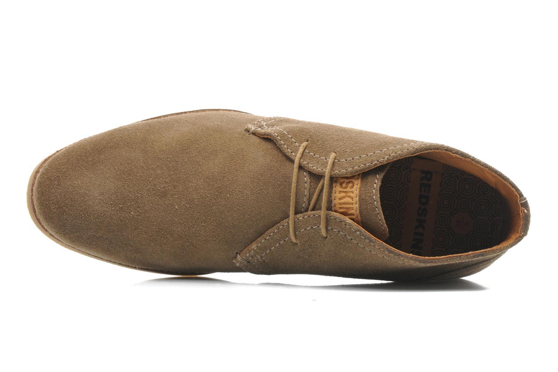 Chaussures à lacets Redskins Wolnan Beige vue gauche
