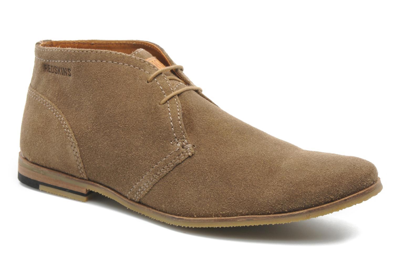 Chaussures à lacets Redskins Wolnan Beige vue détail/paire