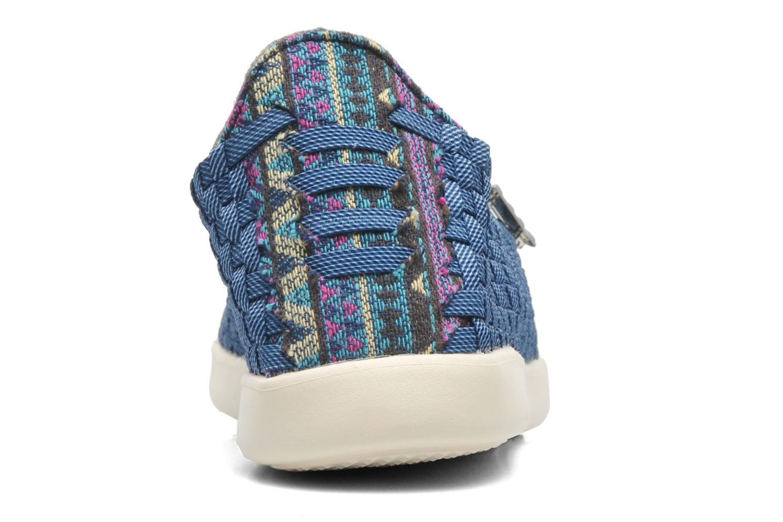 Sneaker DUDE E-last simple blau ansicht von rechts