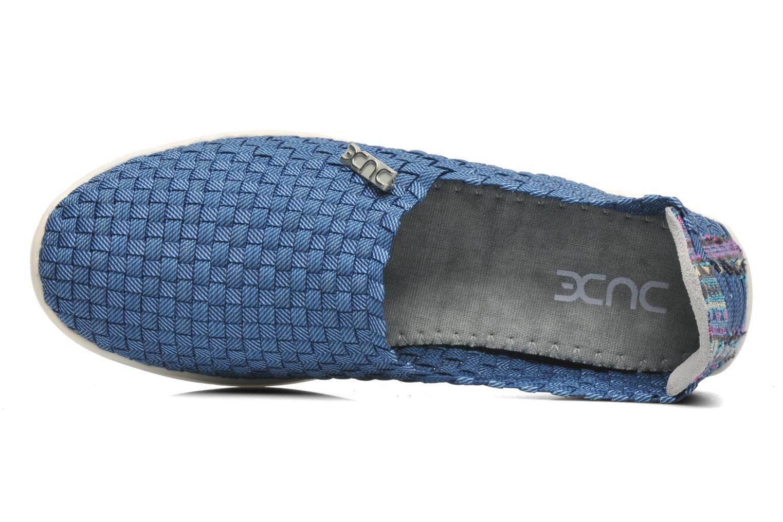 Sneakers DUDE E-last simple Blå se fra venstre