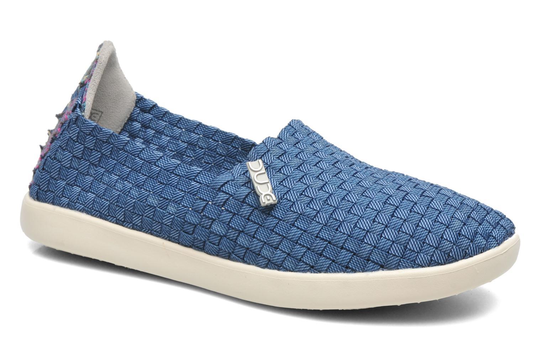 Baskets DUDE E-last simple Bleu vue détail/paire
