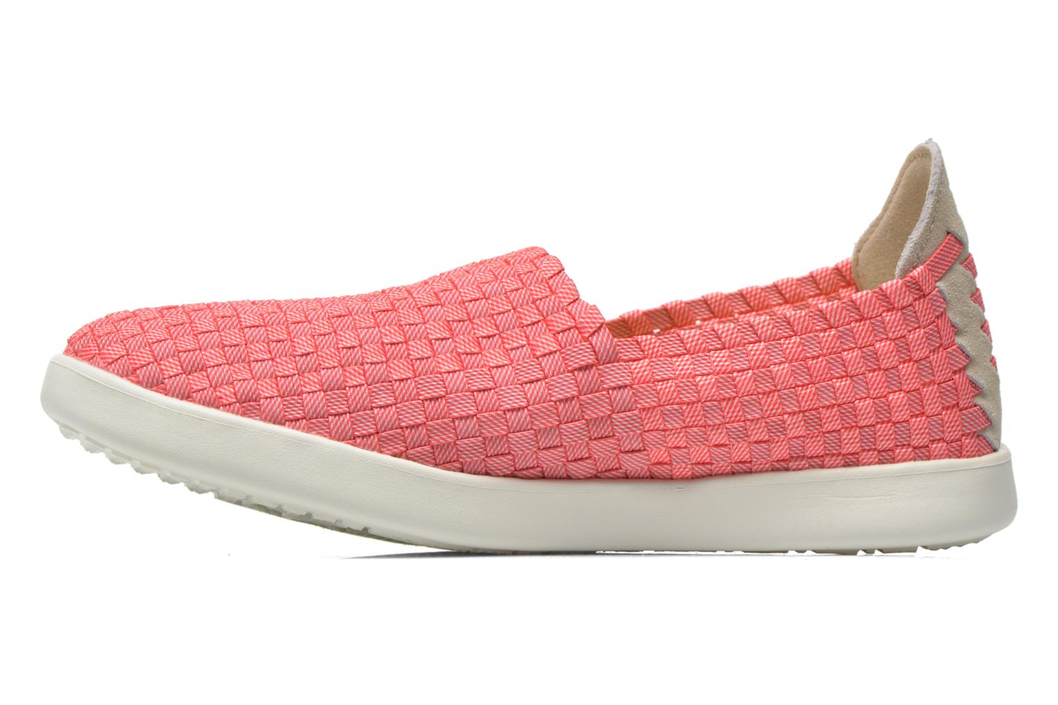 Sneakers DUDE E-last simple Pink se forfra