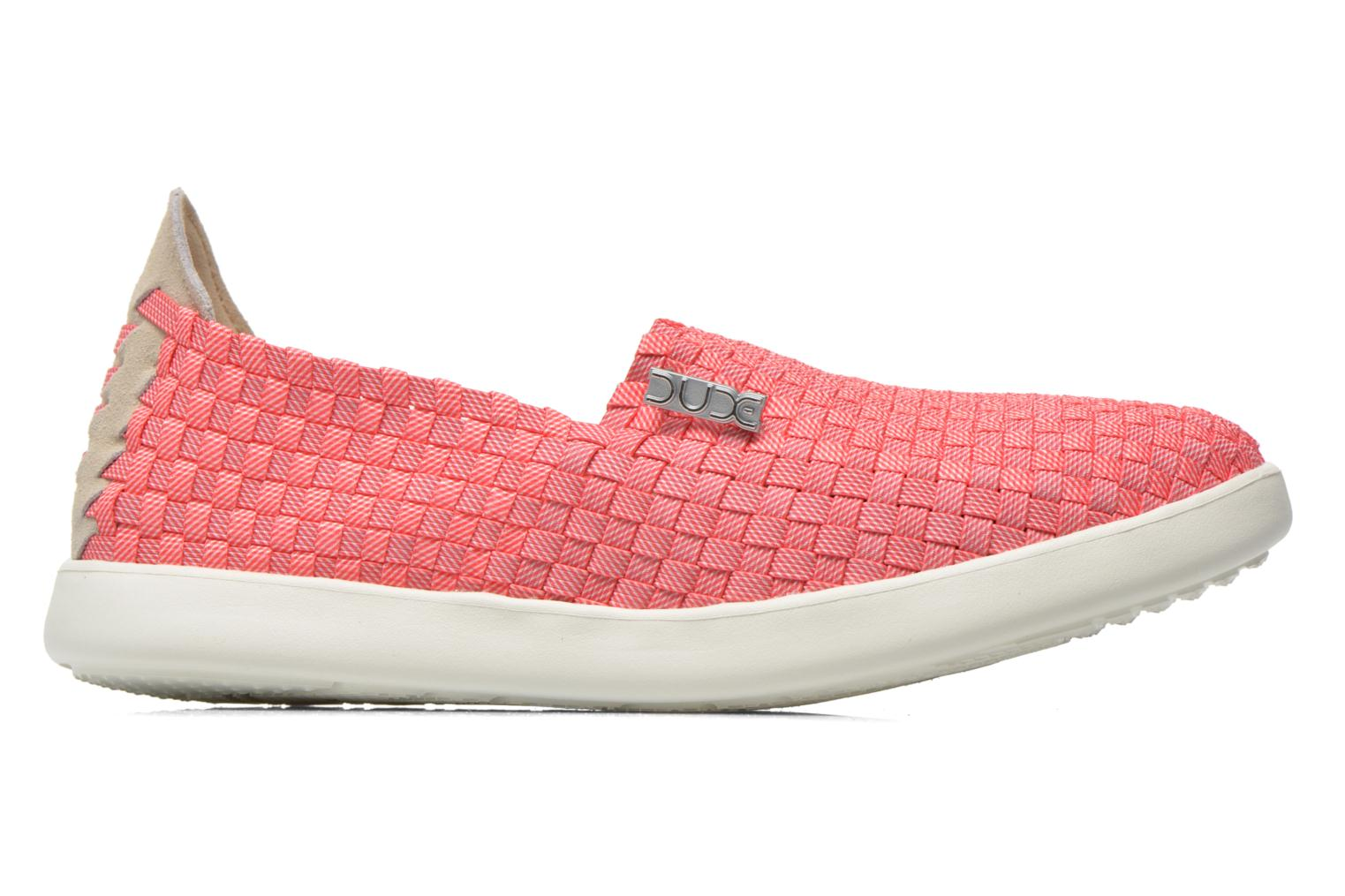 Sneakers DUDE E-last simple Pink se bagfra