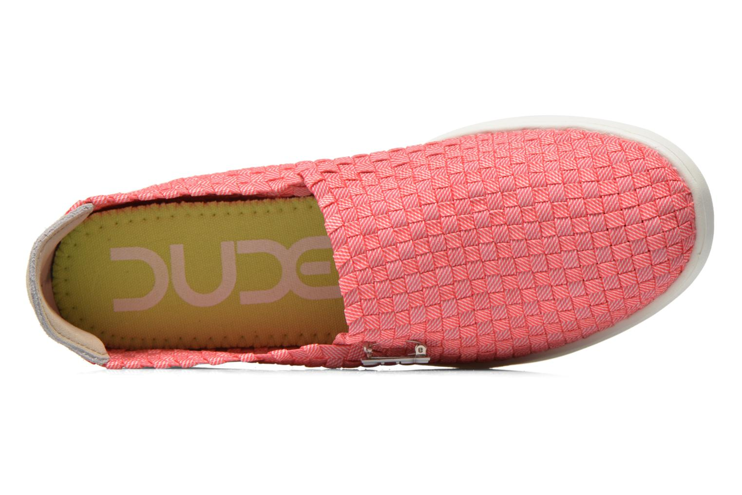 Sneakers DUDE E-last simple Pink se fra venstre
