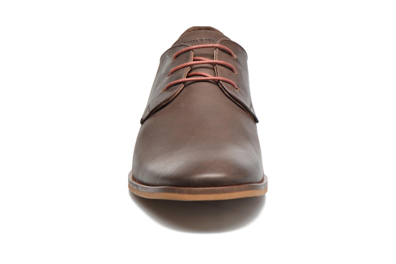 Chaussures à lacets Schmoove Swan derby Marron vue portées chaussures