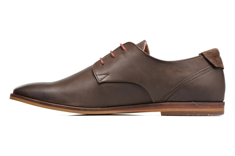 Chaussures à lacets Schmoove Swan derby Marron vue face