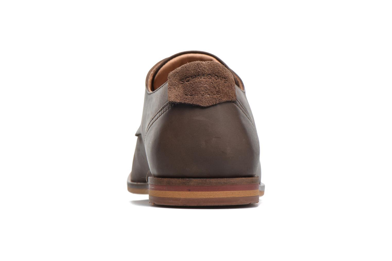 Chaussures à lacets Schmoove Swan derby Marron vue droite