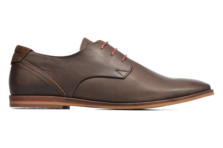 Chaussures à lacets Schmoove Swan derby Marron vue derrière
