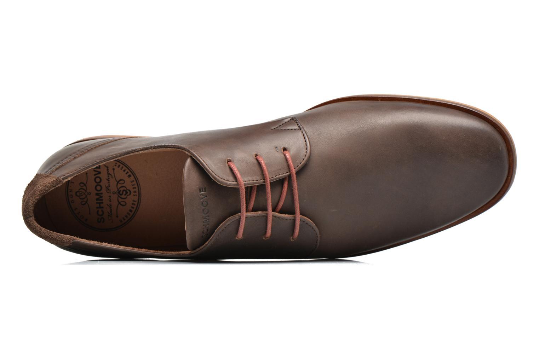 Chaussures à lacets Schmoove Swan derby Marron vue gauche