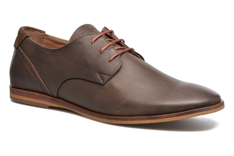 Chaussures à lacets Schmoove Swan derby Marron vue détail/paire