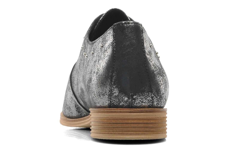 Chaussures à lacets Schmoove Woman Velours Studs Noir vue droite