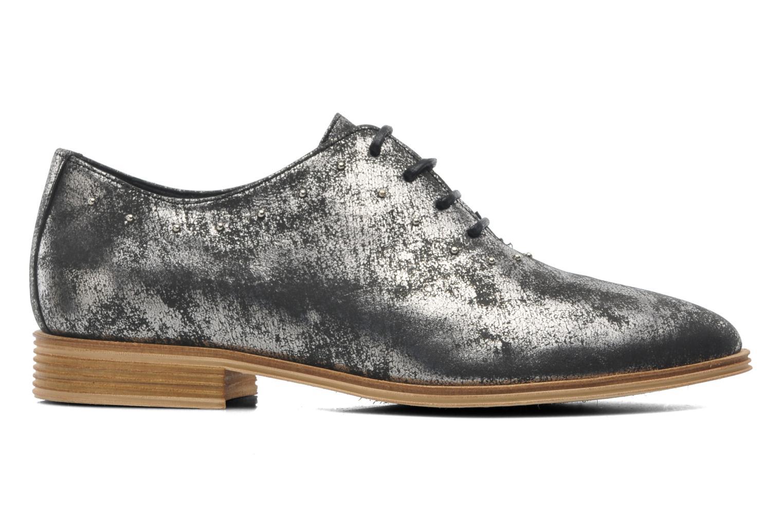 Chaussures à lacets Schmoove Woman Velours Studs Noir vue derrière