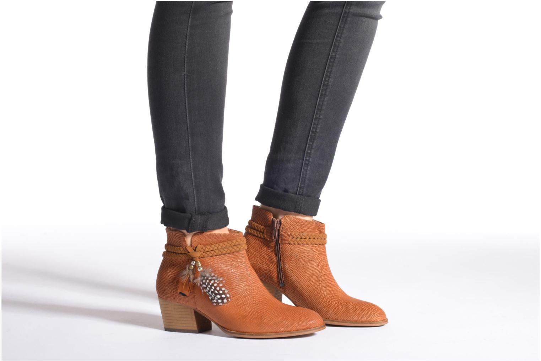 Bottines et boots Schmoove Woman Secret Boots Geko Bleu vue bas / vue portée sac